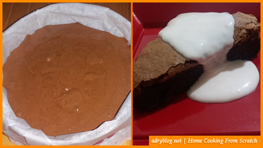 flourless chocolate orange cake