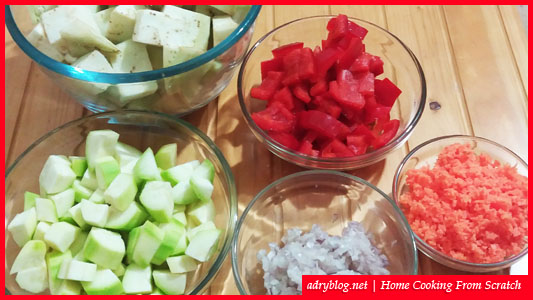 quick and easy homemade vegetable stew recipe
