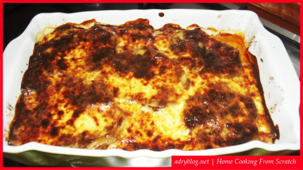 eggplant ground meat casserole moussaka recipe