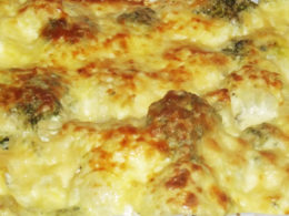 Broccoli Cauliflower Casserole homemade recipe from scratch