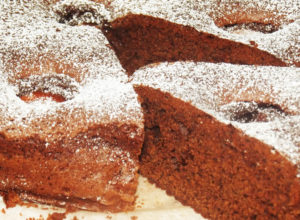chocolate apricot easy cake recipe