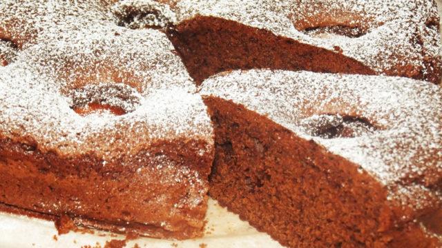 chocolate apricot easy cake recipe