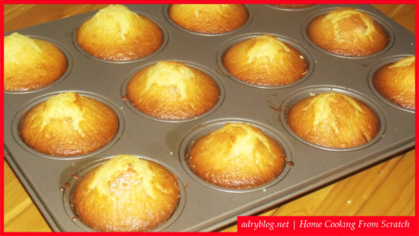 easy muffins recipe from scratch