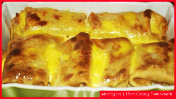 meat filled crepes recipe