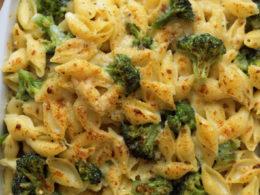 cheesy pasta with broccoli recipe